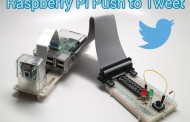 Raspberry Pi Projekt - Push to Tweet