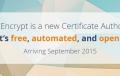 Kostenlose TLS/SSL Zertifikate demnächst von Let's Encrypt