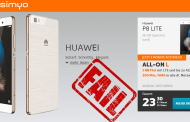 Simyo Vertrag + Huawei P8 Lite Veräppelung