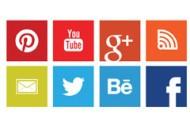 Social Media Buttons für die Homepage
