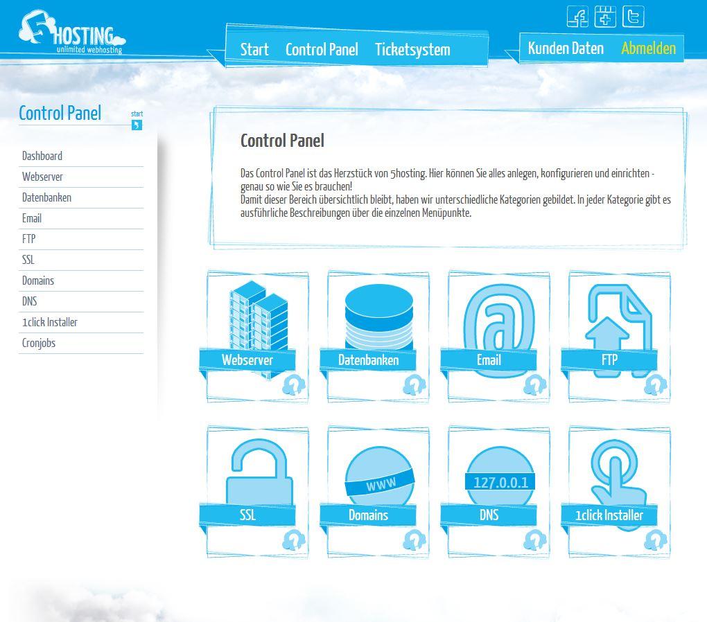 5hosting-webspace-control