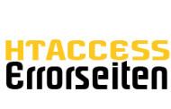 htaccess - Eigene Fehlerseiten / Errorseiten