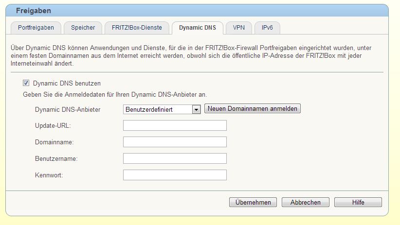 fritzbox-dns-einstellung