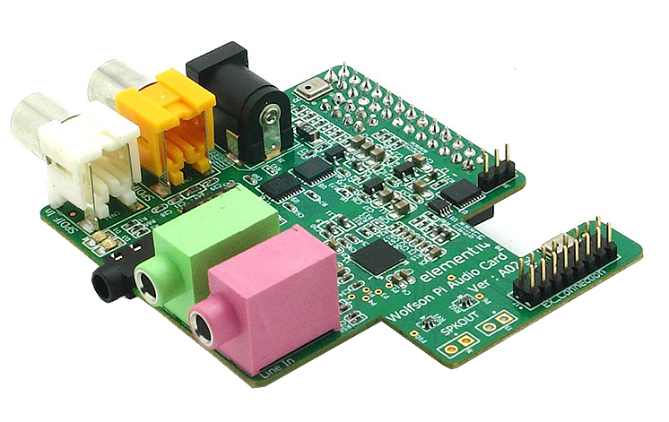 Wolfson-Pi-Audio-Card-für-Raspberry-Pi