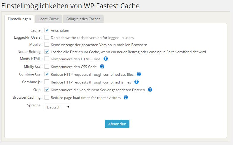 fast-cache-wordpress