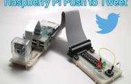 Raspberry Pi Projekt - Push to Tweet
