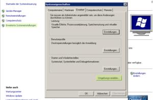 Windows Umgebungsvariablen