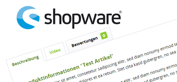 Youtube Video Tabs in Shopware 5